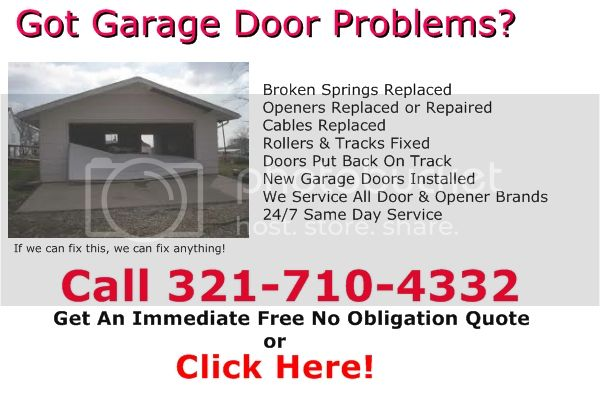Titusville Garage Door Repair